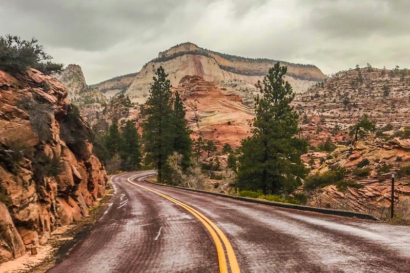 Zion Utah Highway 9. Shot on iPhone 7+